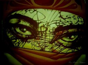 eyes a bleed