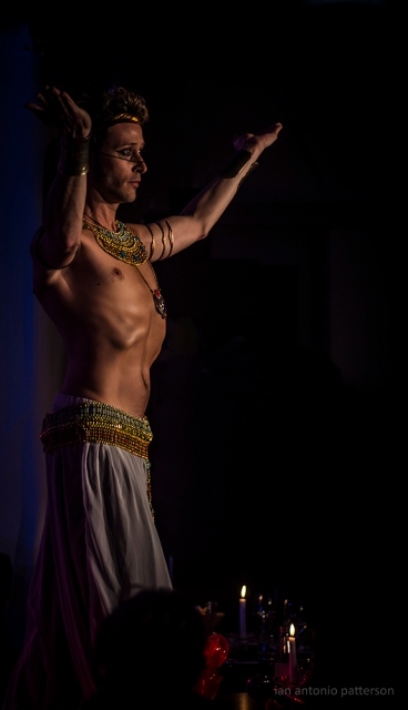 Tribal Noir, Josefine Wandel, www.indian-fusion-dance.com